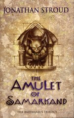 The Amulet of Samarkand book cover
