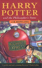 Harry Potter and the Philosopher's Stone book cover
