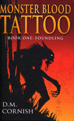 Monster Blood Tattoo: Foundling book cover