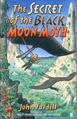 The Secret of the Black Moon Moth book cover