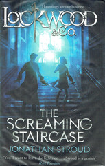 The Screaming Staircase book cover