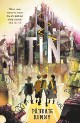 Tin book cover